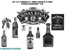 whiskey brushes for photoshop by chrispg2000