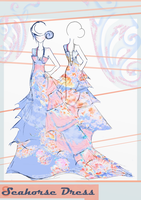 Seahorse Dress by Hollitaima