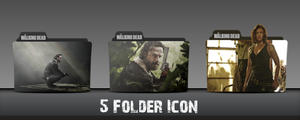 The Walking Dead Season 5 Folder Icons by MaiconDesp
