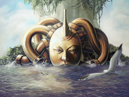 The Copper Medusa - New Version by Vaelyane