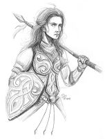 Nymeria, Princess of the Rhoynar by ricardorente