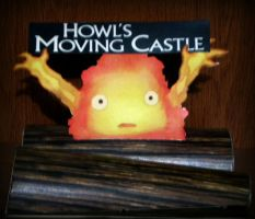 HMC :Calcifer: papercraft by drawwithme15