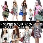 9 PNGS SNSD In Airport by bibi97nd