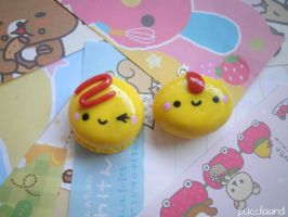 Kawaii Omurice Charms by puccilaand