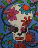 Hippie Skull by ToniTiger415