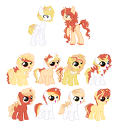 SunFire and CinnamonStick 2 left by Yumi-Kitten