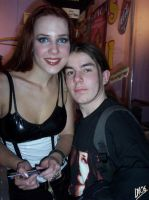Simone Simons and me by DarkMoi