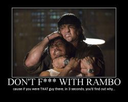 Don't F--- with Rambo by Volts48