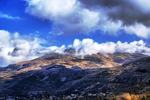 Wrapped Up in Clouds by gors