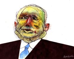 mccain fluffing his neck by seanmetcalf