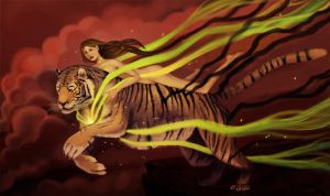 the lady and the tiger by alykazam