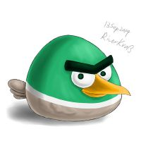 Angry Duck by RiverKpocc
