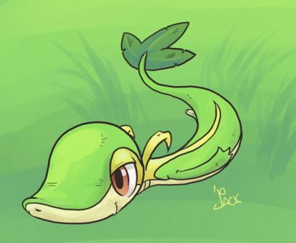 Snake in the Grass by 8BitJack