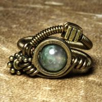 steampunk jewelry R by CatherinetteRings