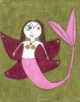 Pink Lily-Ghost Mer-Fairy by RustyFanatic05