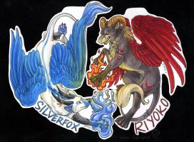 Constant Battle - Badge Commis by Idess