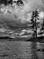Storm clouds- BW by MartinGollery