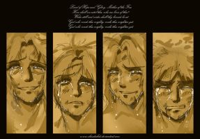 APH Sketch: Tears of Hope by claudiakat