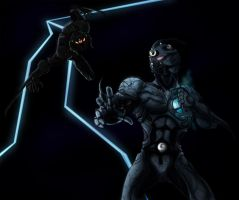 Guyver Dark Hero by ConstantM0tion