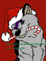 Merry Christmas Benevolent Wolf Pack by KaliFHunter20