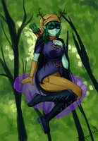 Huntress Wizard by turquoiseted