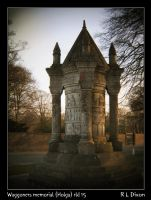 Waggoners memorial (Holga) rld 15 dasm by richardldixon