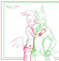 LU: Free love .:sketch:. by Roodiee