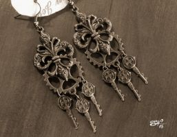 Earrings by Condemned-To-Love