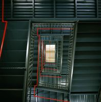 Stairwell II by acidfast