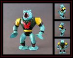 leech (vintage filmation style) custom figure by nightwing1975