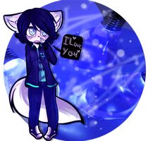 [GIFTY GOO] Blue Sparks [Character Orb] by That-Black-Rabbit