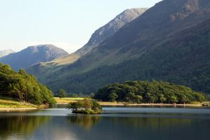 Evening on Crummock Water by parallel-pam