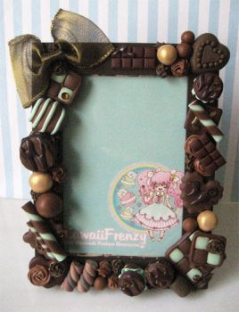 Melty Chocolate Picture Frame by KawaiiFrenzy