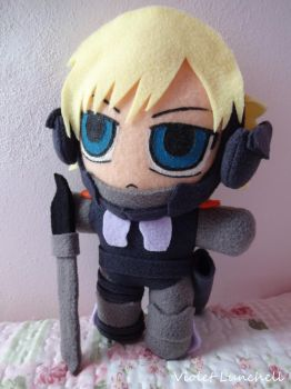 Metal Gear Raiden Plushie by VioletLunchell