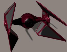 TIE Demon Interceptor by Robotlouisstevenson