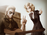 Peace Day - Metal Gear Solid by ManNamedGeorge