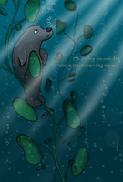 Sad Manatee by koujaku