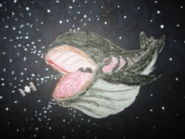 Black Hole Whale by Dragoonfliy