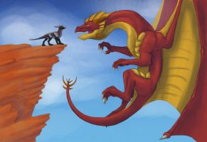 Dragonaddict Contest 2 by Brendavid