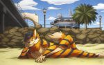 Beach Relaxtion by artofhahul