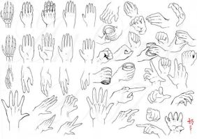 Study: Hands by nai-XaIn