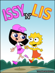 Issy And Lis by toongrowner