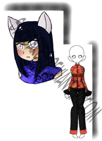 Adopt #4: Head Shot and New Outfit by SakiCakes