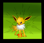 ( Pokemon ) Jolteon's Discharge Attack Collab by KrazyKari