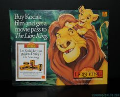 Lion King Kodak Movie Ticket Promo #4 by LionKingForLife