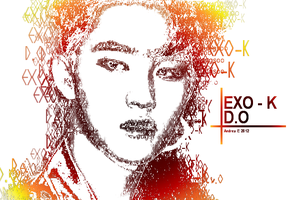 EXO-K - D.O - Typography by DjAsian
