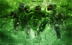 Halo Reach - Team Noble Green by Gekko3309