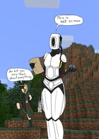 GLaDOS married an Elf by anime-oujo