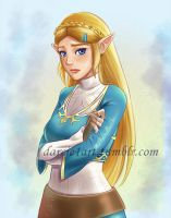 Sad Botw Zelda by Darcie1