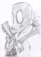 PyroPencildrawing by Goodcat420